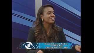Entrevista de Tia Eron a TV Gênesis