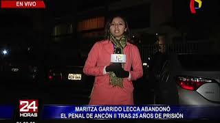 Maritza Garrido Lecca: así fue su salida del penal Ancón II tras 25 años de prisión (2/3)