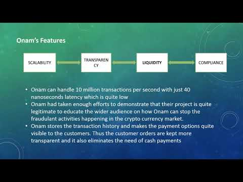 Onam :The Cryto currency exchange Platform