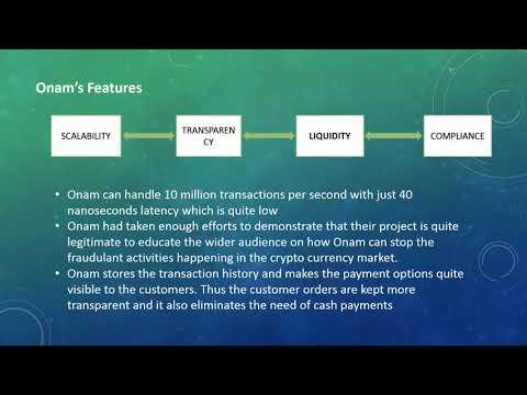 Onam :The Cryto currency exchange Platform