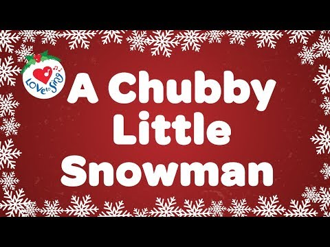 picture regarding Chubby Little Snowman Poem Printable named A Overweight Very little Snowman Young children Online video Tune with No cost Lyrics