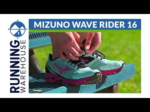 Mizuno Wave Rider 16 Shoe Review