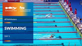 RE-LIVE | Swimming Day 1 | Main Pool | FINA World Masters Championships 2019