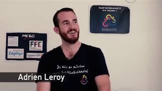 Interview Adrien Leroy - Marseille, septembre 2018