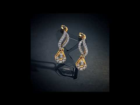 Latest Gold And Diamond Earrings