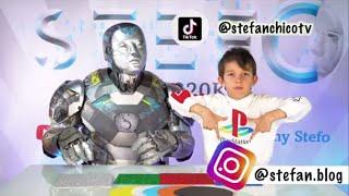 Песенка про цвета Finger Songs Colors от робота Няня Стефо. Робот учит цвета с Стефаном