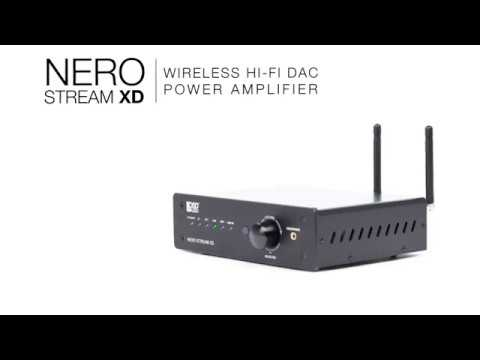 Nero Stream XD200W Stereo Amplifier With Bluetooth And Wi-Fi