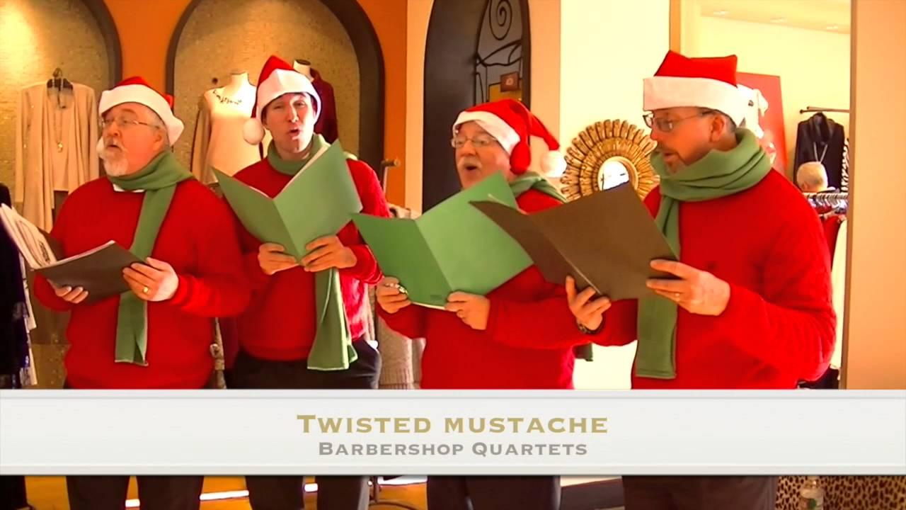 Male christmas singers