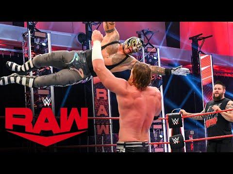 Rey Mysterio & Kevin Owens vs. Seth Rollins & Murphy: Raw July 6, 2020