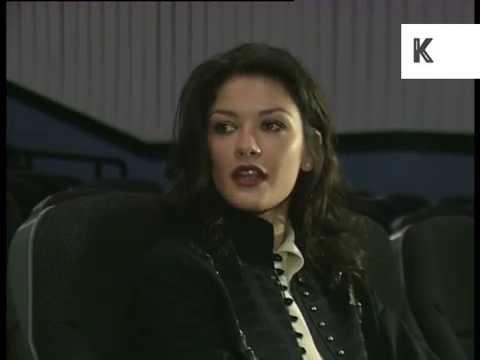 1996 Interview with Young Catherine Zeta-Jones