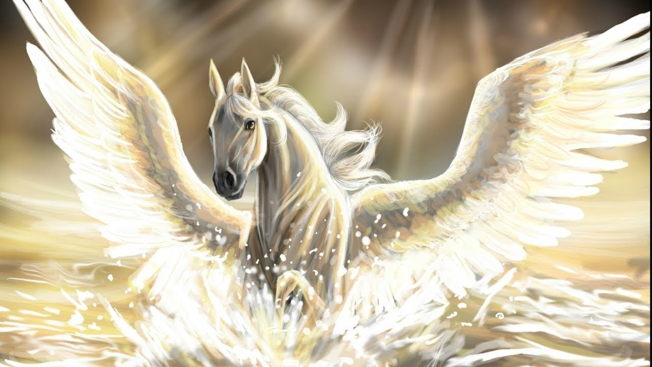 Pegasus: The Winged Stallion - Greek Mythology Explained - YouTube