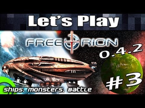 Free Orion Gameplay 0.4.2 - 03: Ship Design Tutorial, Monsters, Space Combat - Free Game