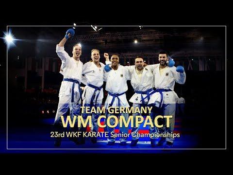 KARATE WM Compact 2016 World Championships Team GERMANY