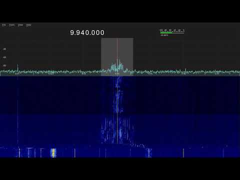 TWR Broadcasting from Swaziland 9940khz - 20:04 - 09/04/2018