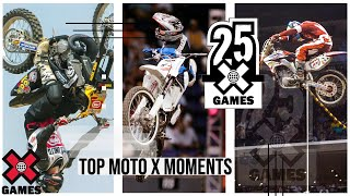 TOP MOTO X MOMENTS: 25 Years of X | World of X Games