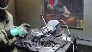 Испытания отрезного круга Lux из гипермаркета OBI, диаметром 230 мм(Тестируем абразивные отрезные круги диаметром 230 мм. В рамках теста решили проверить, какого качества проду..., 2015-09-07T10:28:55.000Z)
