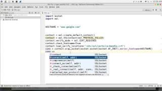 101 python network programming ssl tls