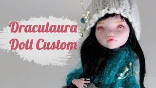 Draculaura OOAK Doll Repaint