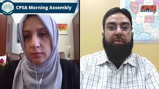 CPSA Morning Assembly Tuesday 3-2-2021