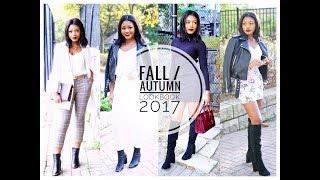 FALL / AUTUMN LOOKBOOK 2017 | Beauty With Vee ♡