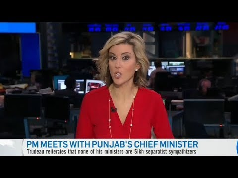 CANADA MEDIA REACTION ON JUSTIN TRUDEAU MEET PUNJAB CM & TALK ON KHALISTAN EXTREMISM IN CANADA
