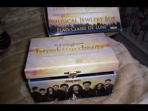 Twilight Saga Breaking Dawn Part 2 Jewelry Box and Collection Update