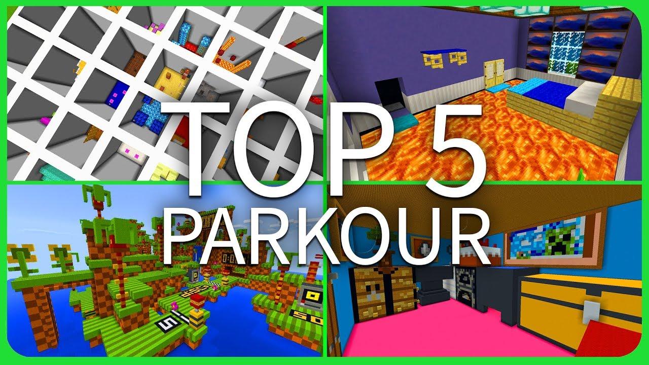 parkour maps minecraft windows 10