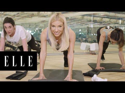 Alessandra Ambrosio Shares her Victoria's Secret Angel Workout | ELLE