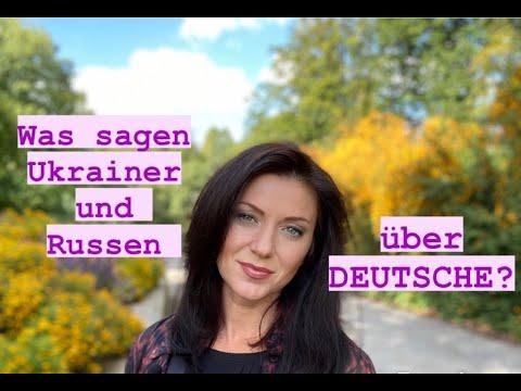 Was sagen ukrainische und russische Frauen über Deutsche / Mentalität und Kultur Ukraine Russland from YouTube · Duration:  24 minutes 25 seconds