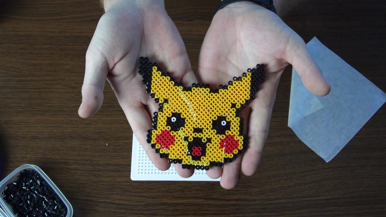 How To Make Pikachu With Hama Beads Creando A Pikachu Con Hama