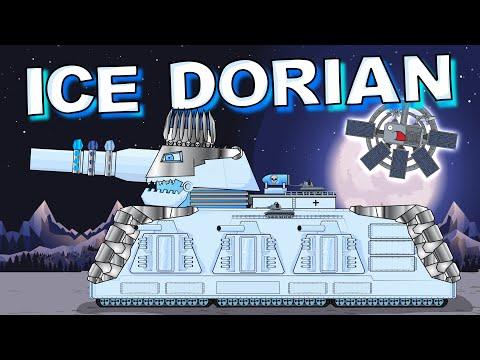 Tank Ice Dorian - Cartoons about tanks