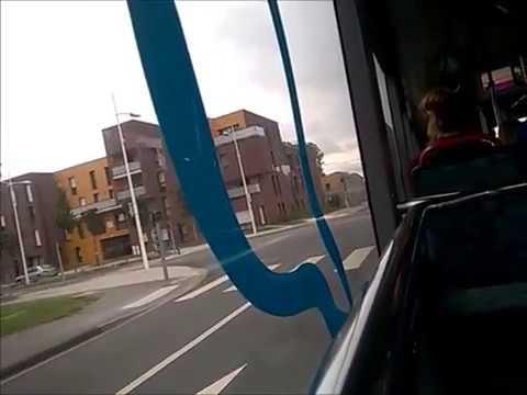[DK'Bus Marine] Trajet dans un Agora S GNV sur la ligne 9 entre Maison Communale et Europe