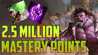 SILVER 2,500,000 MASTERY POINTS DR. MUNDO- Spectate Highest Mastery Points for Dr. Mundo