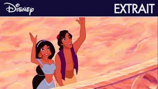 Aladdin - Extrait : Jasmine a le droit d'être avec Aladdin I Disney