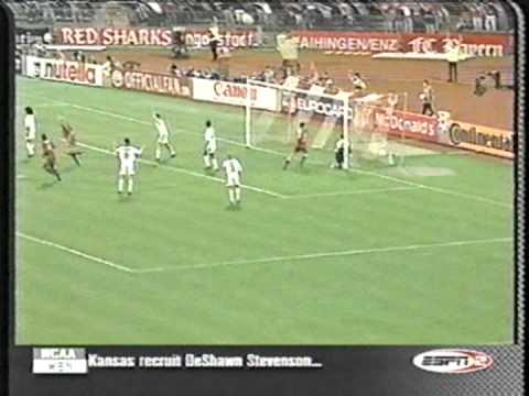 2000 May 9 Bayern Munich Germany 2 Real Madrid Spain 1 Champions League