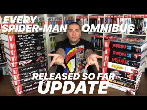 Every SPIDER-MAN Omnibus Released So Far 💎UPDATE💎