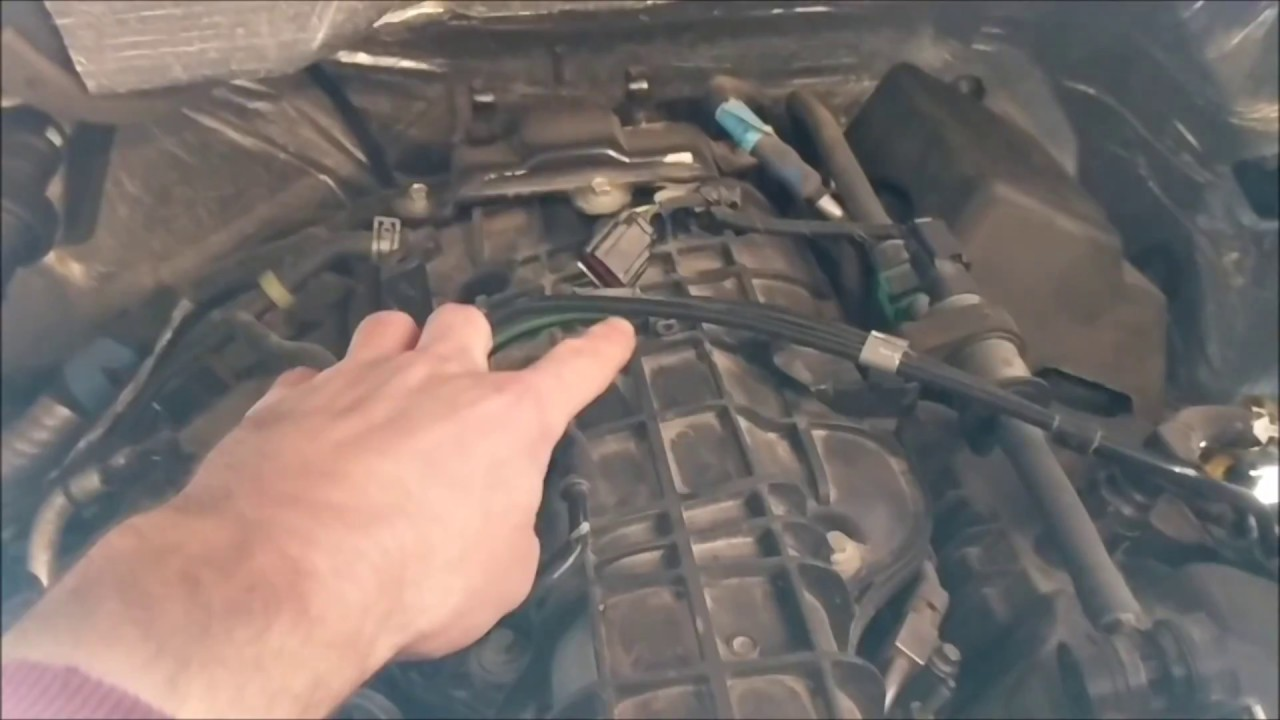 MAP Sensor Cleaning 3 5L EcoBoost HOW TO - Ford F150 - 2012