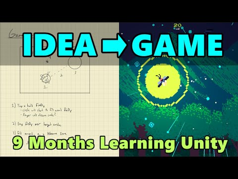 How I Developed And Released My First Video Game | Unity