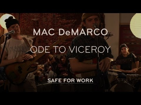 """Mac DeMarco Performs """"Ode to Viceroy"""" - Safe for Work"""