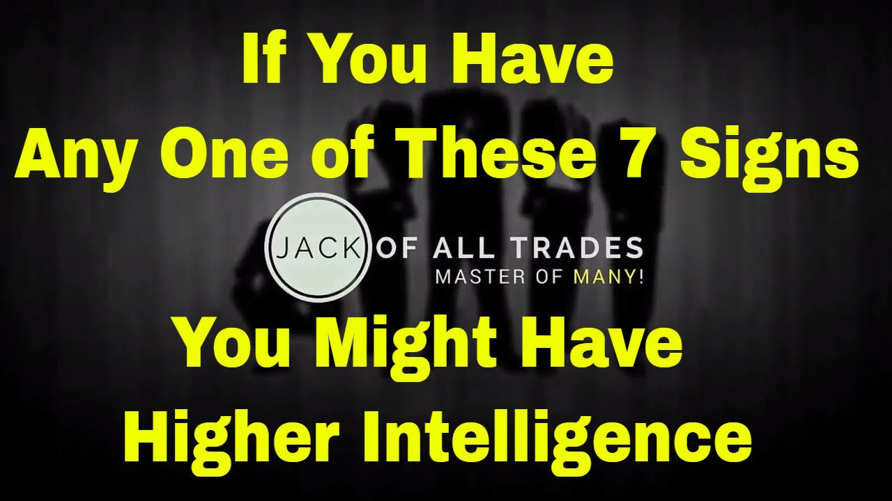 if you have any one of these 7 signs you might have higher