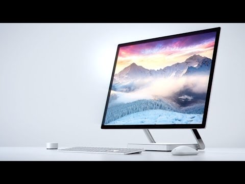 Surface Studio is Microsoft's new all-in-one PC