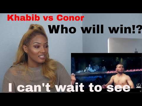 Khabib vs Conor McGregor UFC 229, The Eagle vs The Notorious, Lets Set This Up! Reaction Video