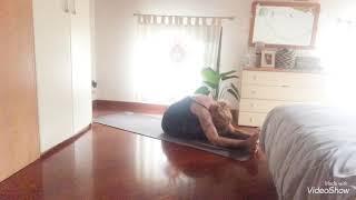 Yoga tutorial - Saluto alla Luna - (Versione semplificata)