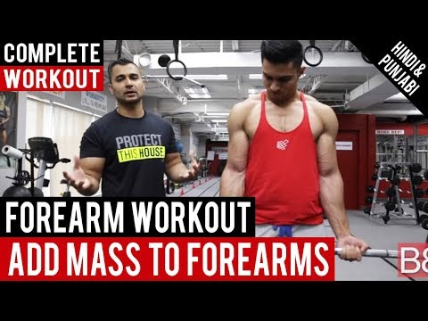 FOREARM Workout To Add MASS !