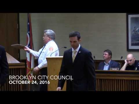 Brooklyn Council Meeting 10/24/16