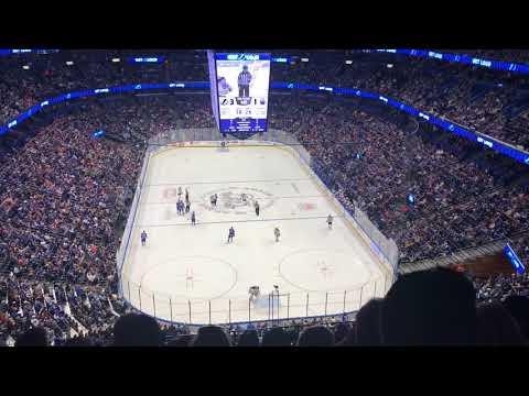 Tampa Bay Lightning vs Edmonton Oilers 03/18/2018 (Julia & Will's 1st Game)
