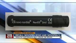 Novo Nordisk recalls faulty cartridge holders in insulin pens due to potential health risks