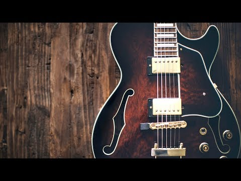 Chill Melancholy Groove   Guitar Backing Track Jam in A Minor
