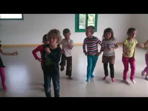 souvenir de l'atelier danse