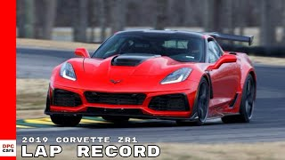 2019 Corvette ZR1 Lap Record at VIR